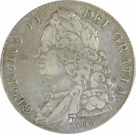George II Silver Crown